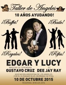 GRAN EVENTO 2015 DEL TALLER DE ANGELES PARA TODA LA COMUNIDAD ARGENTINA DE LOS ANGELES. CA.